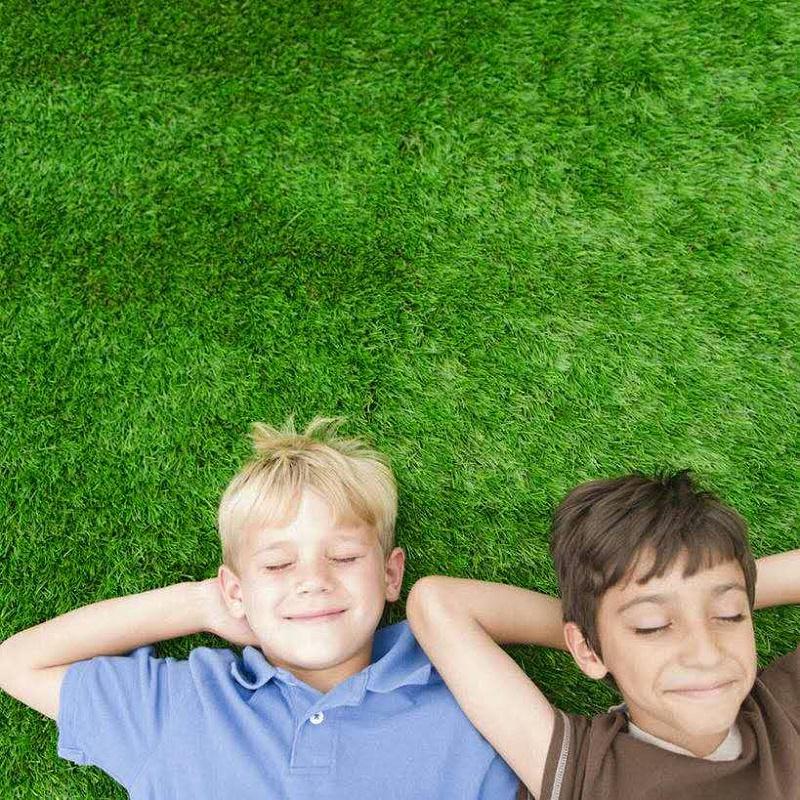 儿童人造草坪