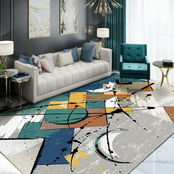 B157-客厅-手工地毯