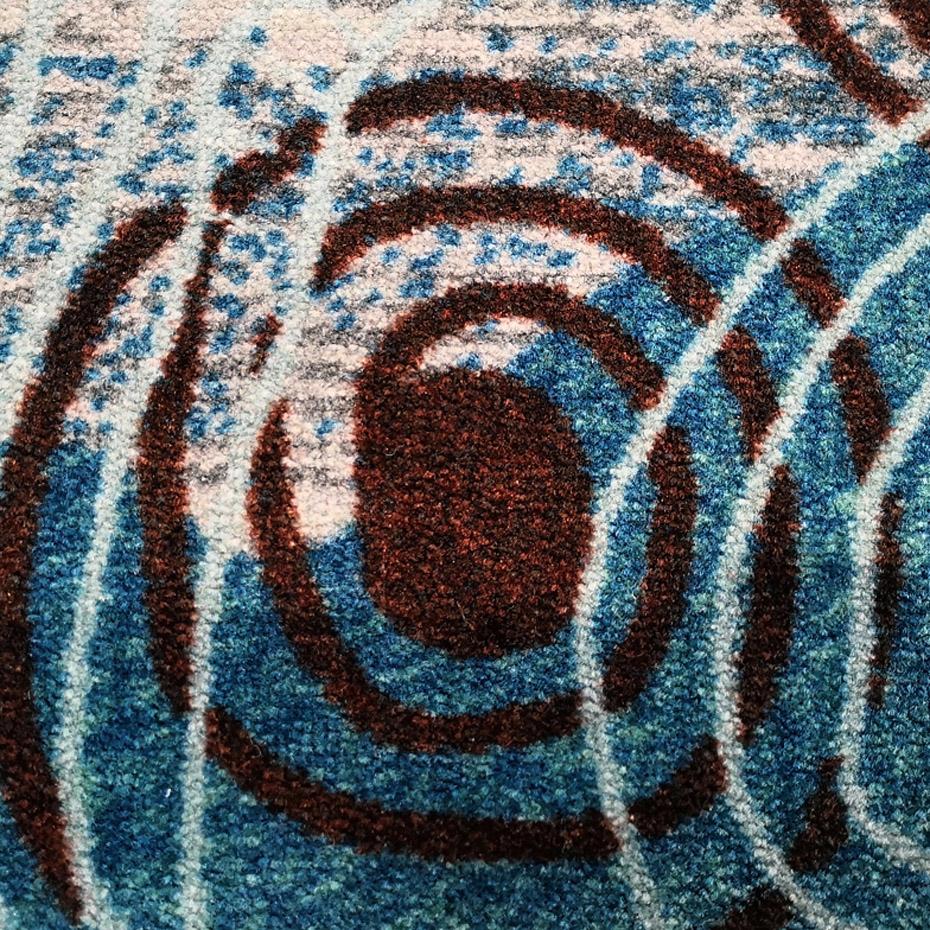 尼龙印花 酒店地毯 多彩毯面