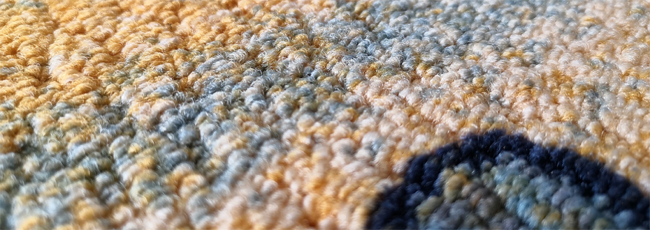 印花地毯 流泉 细节3