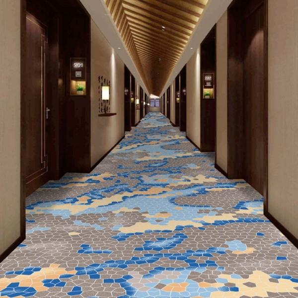 酒店地毯走道地毯-高清印花地毯-MS806
