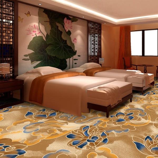 酒店地毯客房地毯-高清印花地毯-MS805