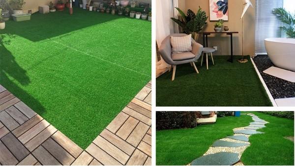 3条使用人造草坪的创意园艺小贴士