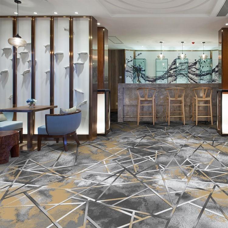 酒店地毯餐厅地毯宴会厅地毯-高清印花地毯-MS1003