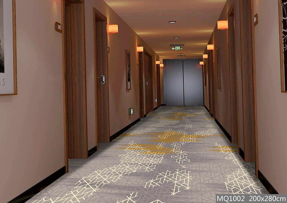 圈绒印花 走廊地毯 走道地毯