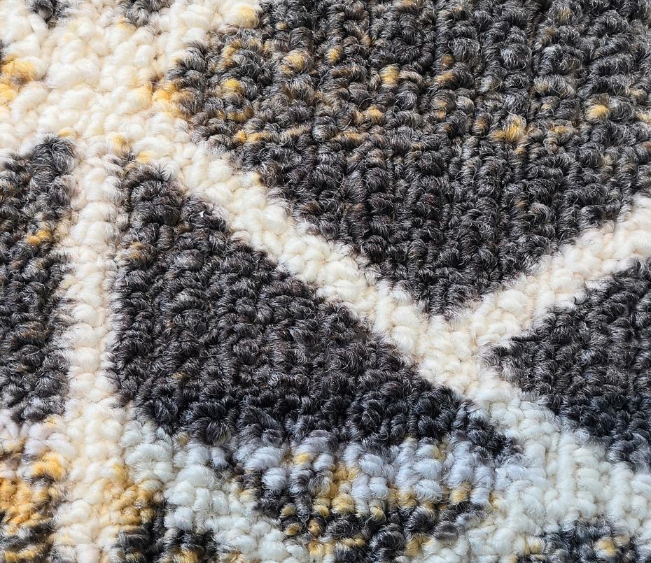 印花地毯 毯面
