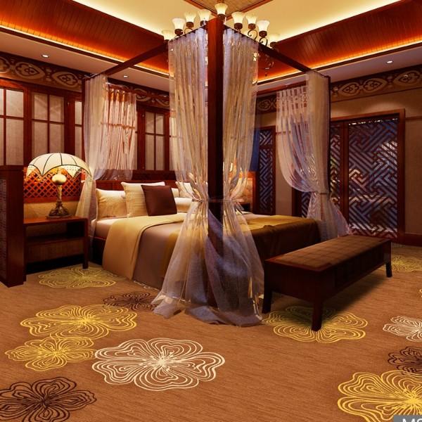 酒店地毯客房地毯-高清印花地毯-MS808