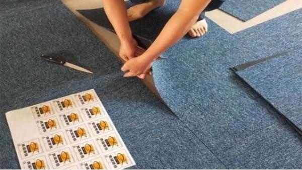 超简单!钻石地毯教你如何局部更换清洁方块地毯
