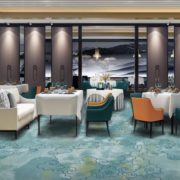 宴会厅餐包地毯-尼龙印花地毯-Y16247LB