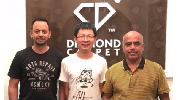 澳大利亚客户Rahul先生和Satesh先生验厂
