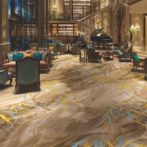酒店地毯大堂地毯-高清印花地毯-NZS12