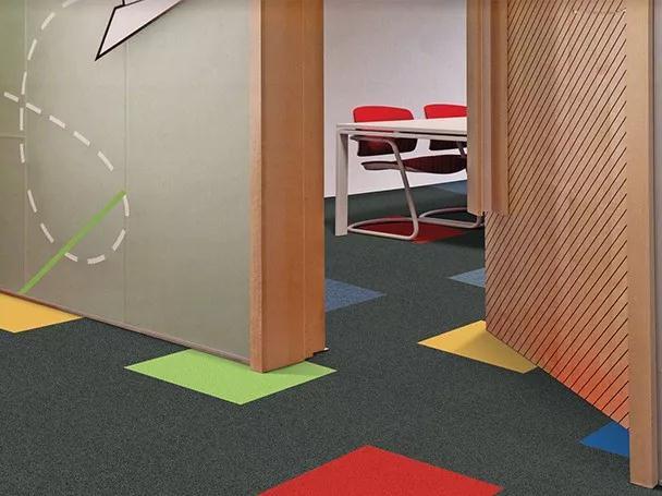 钻石地毯 个性方块地毯 办公室地毯