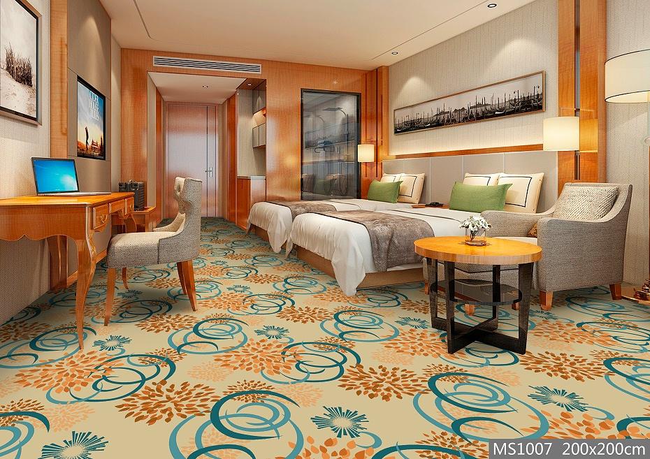 MS1007酒店地毯 客房地毯