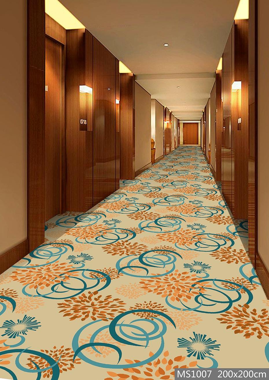 MS1007酒店地毯 走廊地毯 走道地毯