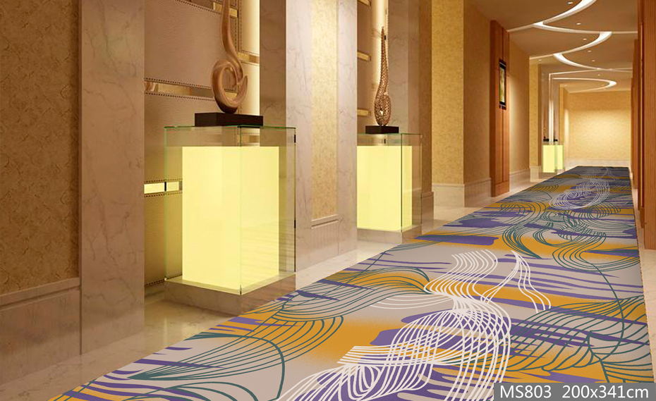 MS803酒店地毯 走道地毯