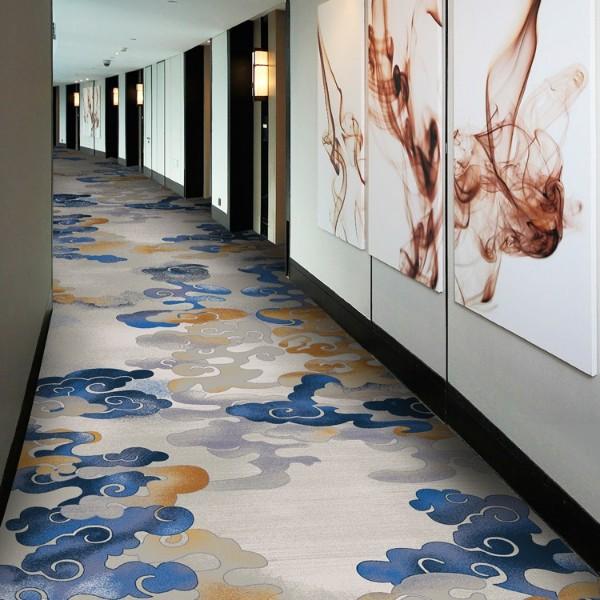 效果图 印花地毯