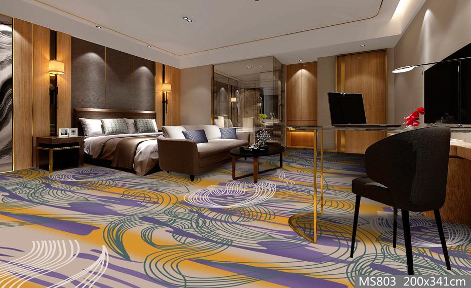 MS803酒店地毯 客房地毯