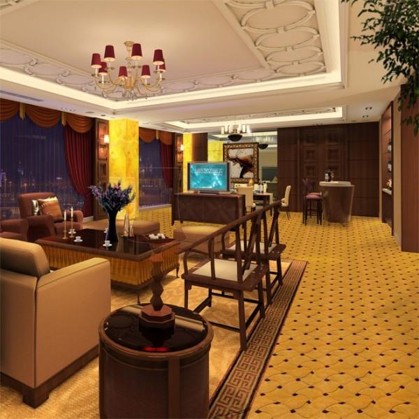 SG85832-客厅-羊毛手工地毯