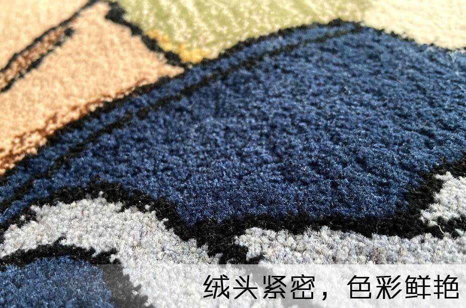 手工地毯毯面