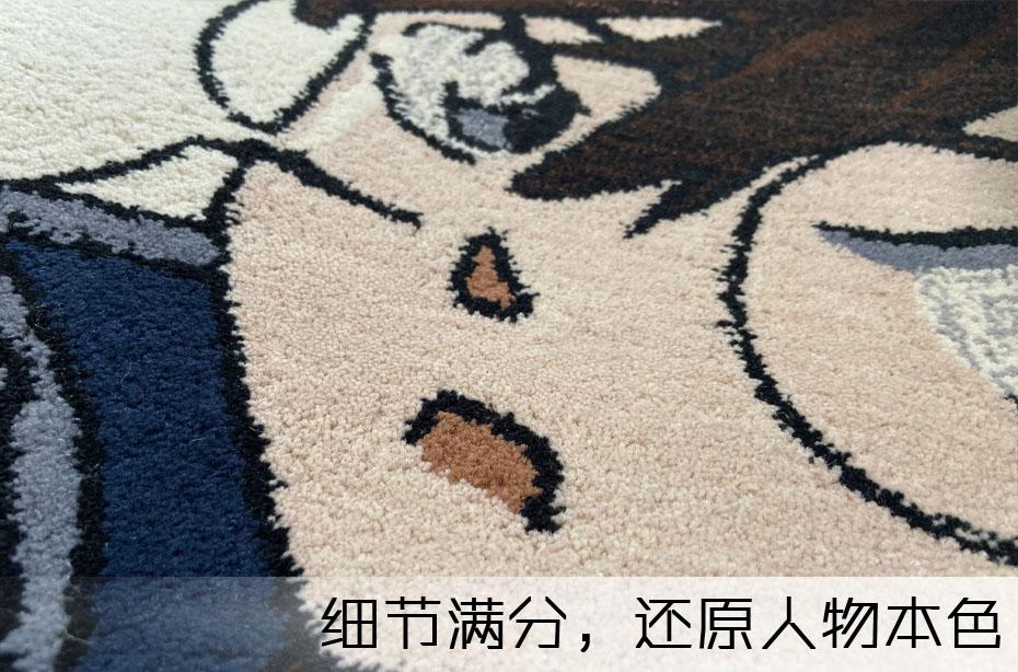 手工地毯毯面2