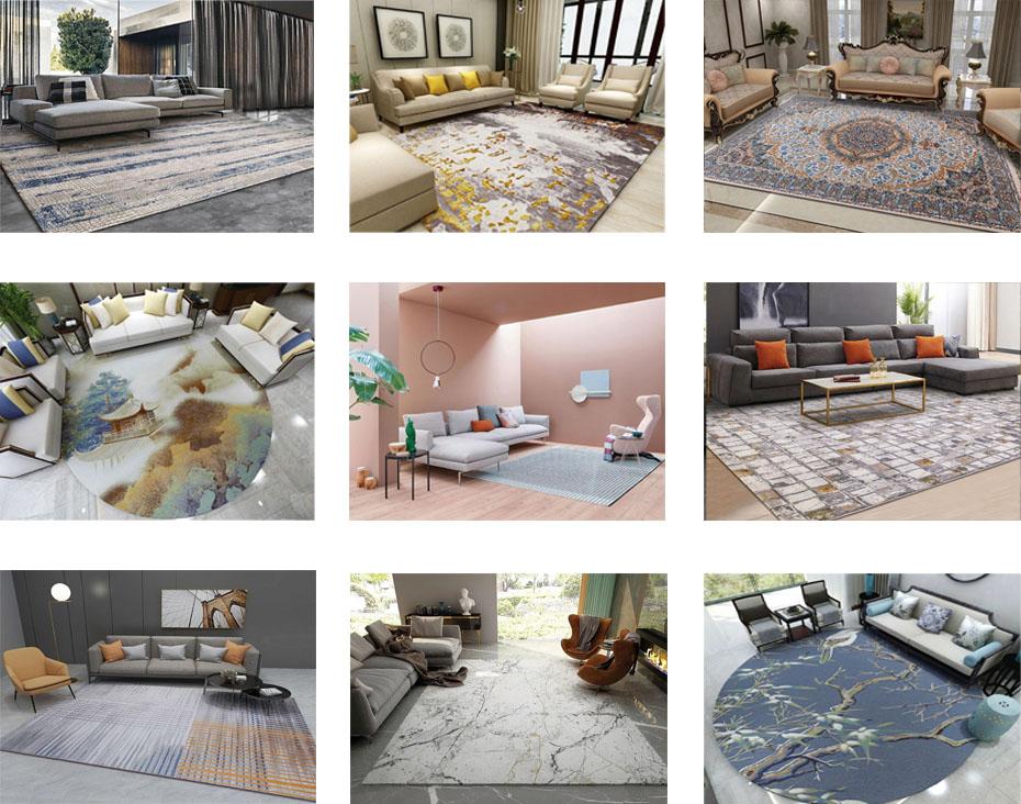 家用地毯方案图