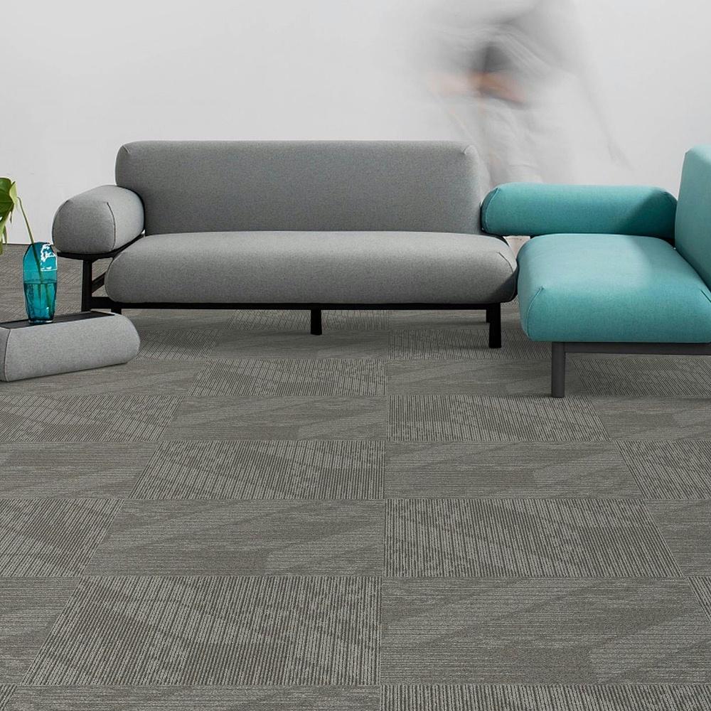 办公室地毯 方块毯 灰色地毯
