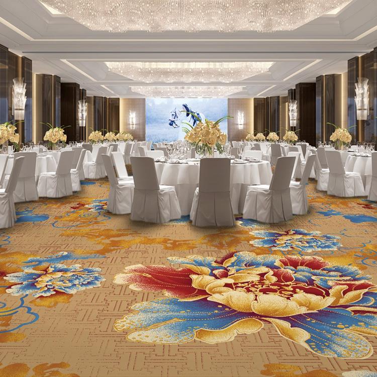 尼龙地毯 餐厅地毯 宴会厅地毯 印花地毯 酒店地毯
