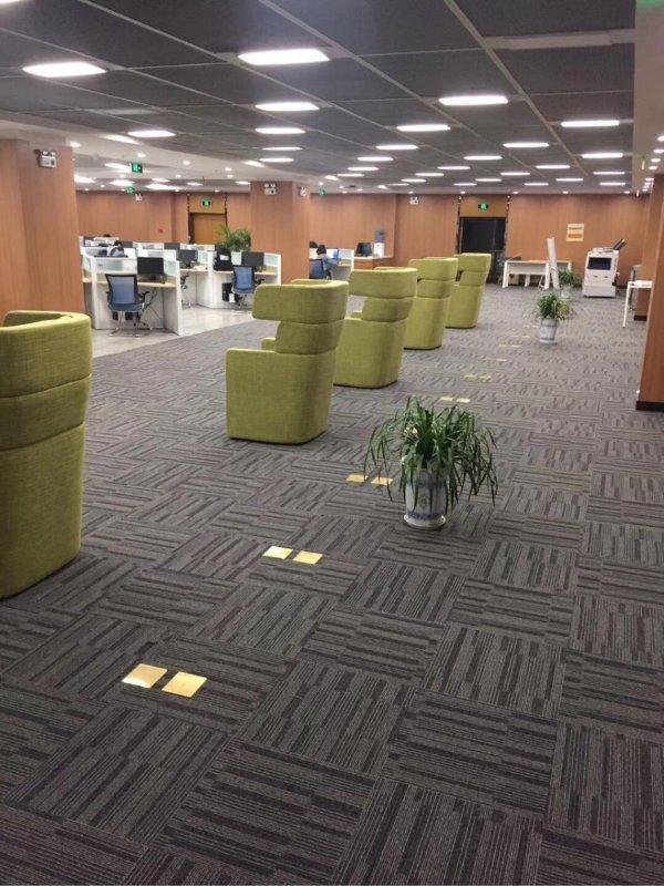 钻石地毯 图书馆地毯 方块毯