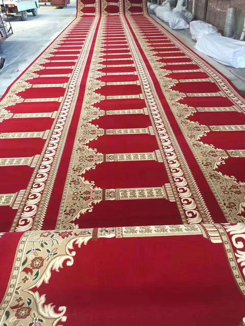 钻石地毯 红色穆斯林地毯