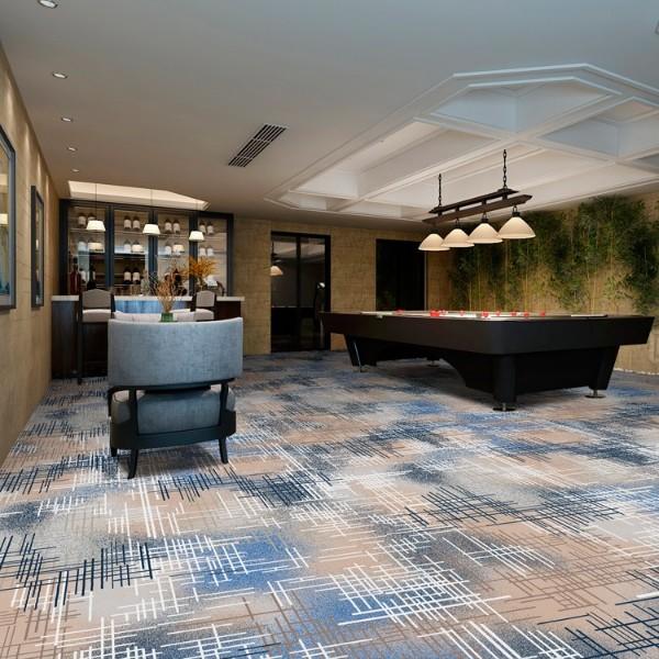 酒店地毯桌球房地毯-高清印花地毯-MS801