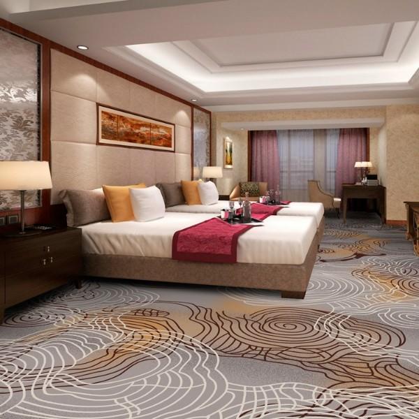 酒店地毯客房地毯-高清印花地毯-MS802