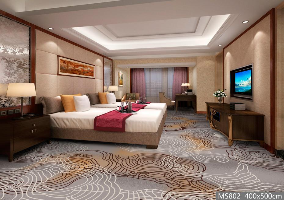 MS802酒店地毯 客房地毯