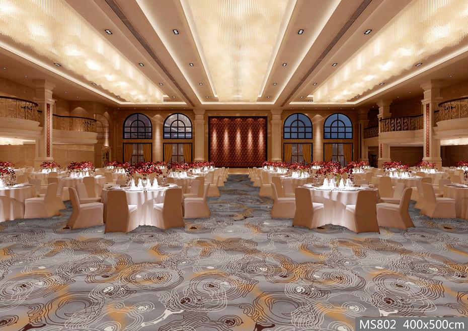 MS802酒店地毯 宴会厅地毯