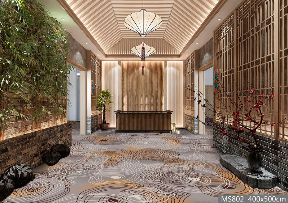 MS802酒店地毯 大堂地毯