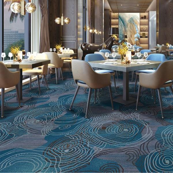 宴会厅餐包地毯-尼龙印花地毯-Y8899B