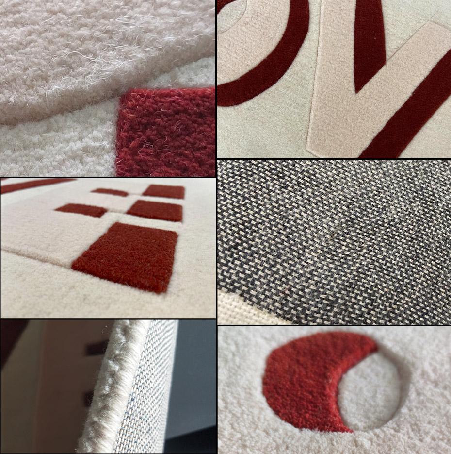 玛卡巴卡 手工地毯细节图