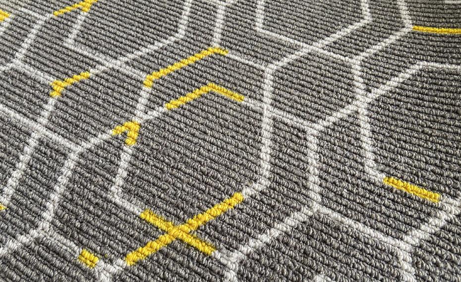 MQT801圈绒印花毯面
