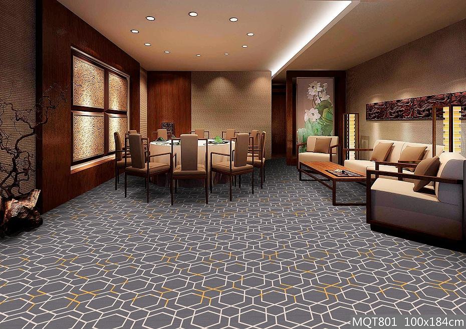 圈绒印花地毯 MQT801 宴会厅地毯
