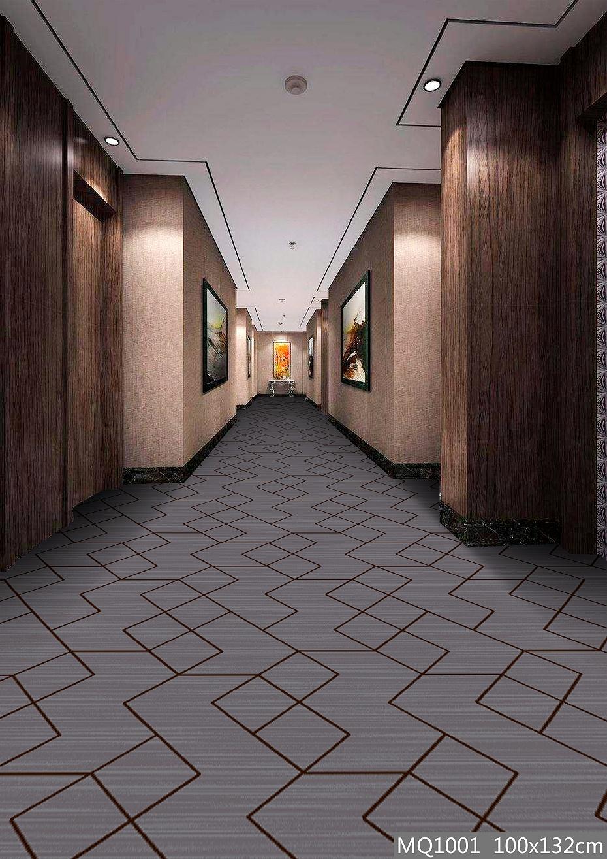 圈绒印花地毯 MQ1001 走道地毯/走廊地毯