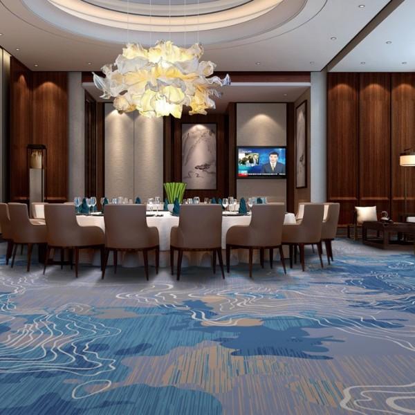 宴会厅餐包地毯-尼龙印花地毯-Y12992B