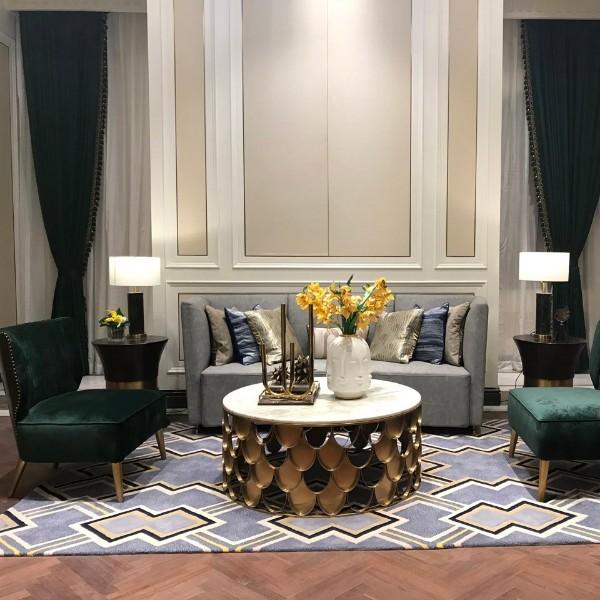 羊毛地毯 手工地毯 客厅地毯