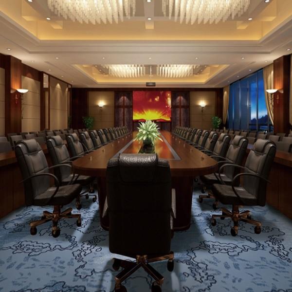 Y6959-M10-会议室地毯-尼龙印花地毯