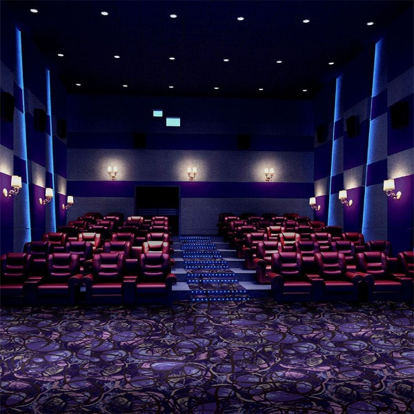 Y3445-K09-影院地毯-尼龙印花地毯