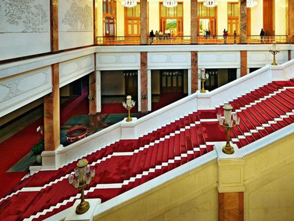 钻石地毯人民大会堂定制地毯案例