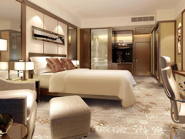 桐乡振石大酒店印花地毯定制案例