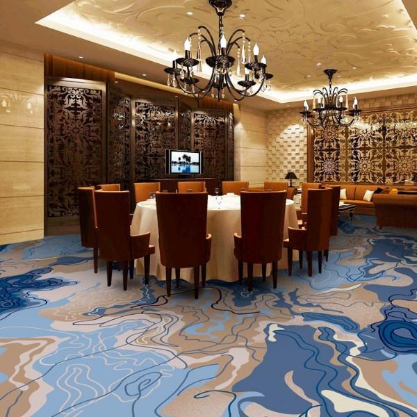 宴会厅餐包地毯-圈绒印花地毯-MQT804