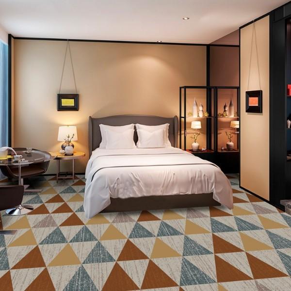 客房地毯-圈绒印花地毯-MQT802
