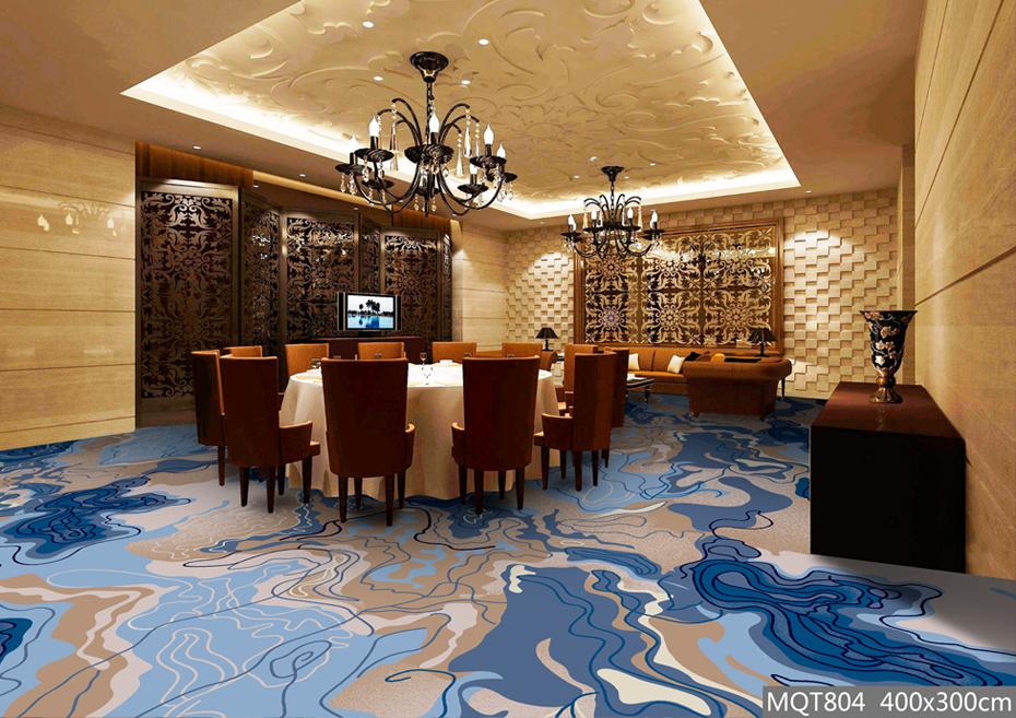 圈绒印花地毯 MQT804 宴会厅地毯