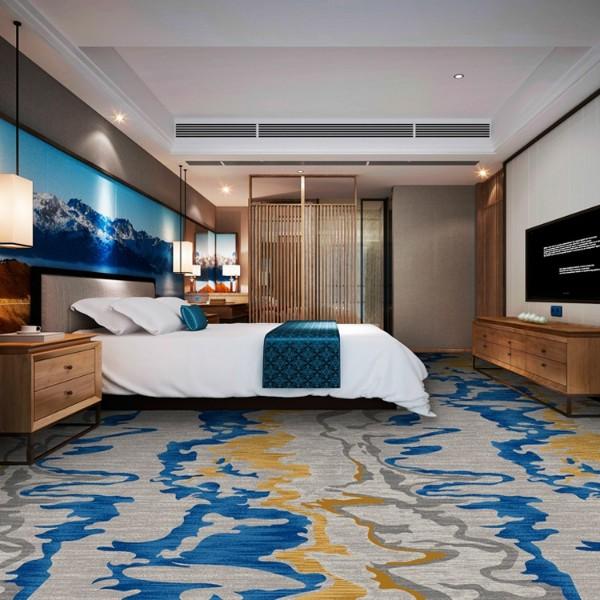 酒店地毯客房地毯-高清印花地毯-MS1001