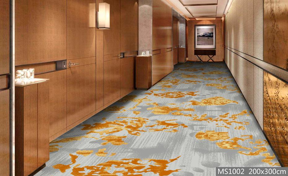 高清印花 走道地毯 宾馆地毯
